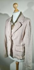 NEXT: Women's Oatmeal Linen/Cotton Mix Jacket (Size 16)