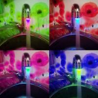 Changing Sensor Faucet Sale Glow Color Temperature RGB Light Tap Water LED Mode.