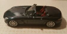 Herpa 034852 MB SLS AMG Roadster Softtop in anthrazit metallic 1:87 neu in OVP