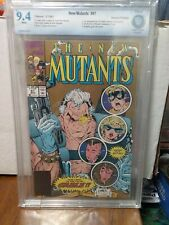 NEW MUTANTS #87 Cbcs 9.4 1ST APP CABLE STRYFE 2ND PRINT MUTANT LIBERATION FRONT