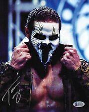 Tama Tonga Signed 8x10 Photo BAS COA New Japan Pro Wrestling Bullet Club NJPW 8