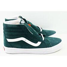 Vans SK8 Hi Reissue Mens Size 10.5 Skate Shoes Pig Suede Darkest Spruce Green