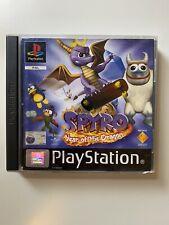 Spyro Year of the dragon custodia Prima Stampa + Pubblicità Crash/ Spyro 2