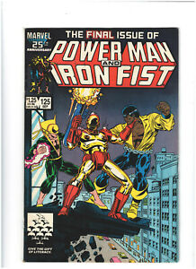 Power Man and Iron Fist #125 VG/FN 5.0 Marvel Copper Age 1986 Final Issue