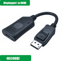 Active DisplayPort to HDMI Cable Male to Female Adapter 4K@60HZ for Dell,HP