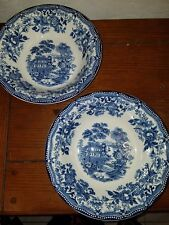 Set Of Two Royal Staffordshire Tonquin 9 Inch Bowls