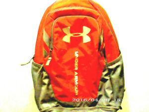 Under Armour Storm  Hustle 3.0 Backpack with Laptop Sleeve Color Red / Graphite