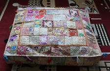 """New 35X35"""" Square Multi Patchwork Home Decorative Handmade Cushion Pillow Covers"""