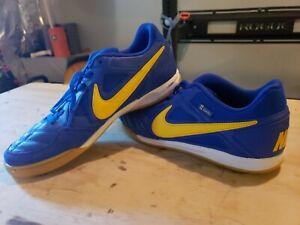 Nike SB Gato (Mens Size 10.5) Shoes AT4607 400 Blue Yellow Skateboard