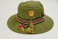 Fjallraven Boonie Hat Green Cotton Hiking Camping M XMS909