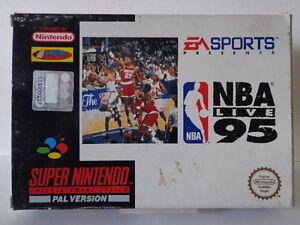 SNES Spiel - NBA Live 95 (mit OVP) (PAL) 10636893