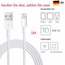 Original Apple Lightning Ladekabel für iPhone 5 6 7 8 iPad Pro 1m USB Kabel NEU