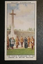 Terlincthun Great War Cemetery King George V Original 1930's Vintage Card