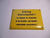 Repro Emailschild preußischer Amtsvorsteher
