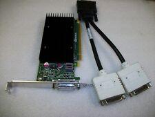 512MB DDR3 Video Graphics Card Dual Monitor DVI Nvidia Quadro NVS300 PCI-Express