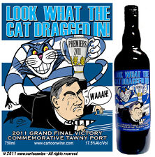 2011 Geelong Grand Final Victory Commemorative Port by CARTOON wine
