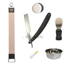 Strop DOVO Paste Brush Soap Bowl Straight Shave Razor