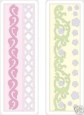 CUTTLEBUG Provo Craft FLORAL BORDER - 2X6 BEAUTIFUL!!!