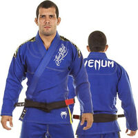 New BJJ GI Competitor Single Weave - Blue