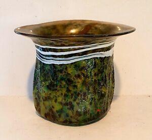 Peter Goss Art Glass Vase