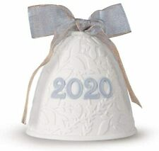 Lladro 2020 Christmas Bell Ornament 1018454.New In Box