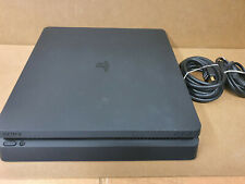 Sony PlayStation 4 Slim - 500GB Mattschwarz Spielekonsole