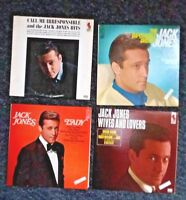 JACK JONES-lot of 4 lp's-Wives & Lovers-Irresponsible-Lady-Impossible Dream