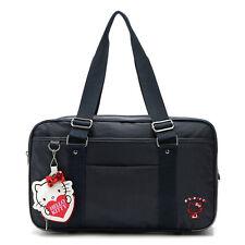 HelloKitty  Black Zipper  Handbag Tote Shoulder Bag 2018  New Nylon