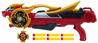 Power Rangers Super Ninja Steel Ages 4+ Toy Bandai Rapid Fire Gun Dart Fight Fun
