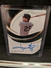 - 2019 Immaculate Collection Signatures #38 Jason Giambi Autograph /25
