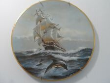 Charles Lundgren's Golden Age of Sail Plates Complete set of 12 #119