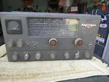 National NC-125 Receiver Vacuum Tube Shortwave Ham Radior Rehab Not Tested
