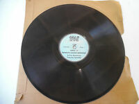 "WOR Recording 78 RPM 10"" Voice of Franklin Delano Roosevelt Quotations 199-9I"