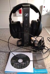 Sennheiser RS175 RF Wireless TV Headphones - Black
