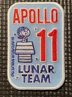 """APOLLO 11 LUNAR TEAM - NASA SPACE PATCH - 3.5"""""""