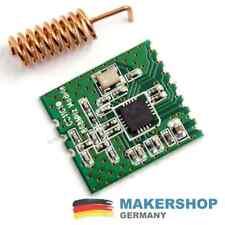 CC1101 868 MHz Wireless Funk Modul Transciever FHEM CUL Arduino Raspberry Pi