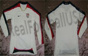 NIKE USWNT USA PLAYERS ISSUE LONG SLEEVE HOME JERSEY FIFA WOMEN'S WORLD CUP 2007