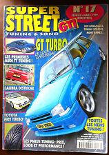 b)GTI Plus n°17 du 2/1999; Calibra Districar/ Toyota MR2 Turbo/ Audi TT Tuning