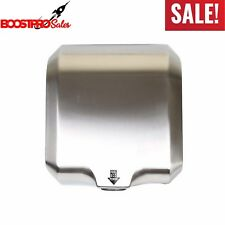 Air AUTOMATIC HAND DRYER High Speed Commercial Bathroom Electric Sensor 1800 W