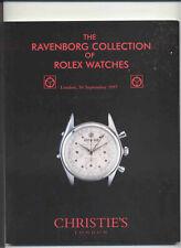 CHRISTIE'S ROLEX WATCHES Ravenborg Coll GMT Daytona Datejust Explorer Catalog 97