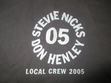 2005 Stevie Nicks & Don Henley Crew Concert Tour (Xl) Shirt Fleetwood Mac Eagles