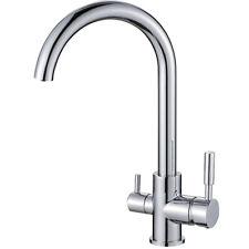 Drei-Wege-Wasserhahn 3 in 1 Armatur Küche Chrom Wasserhahn Wasserfilter YZ-1713