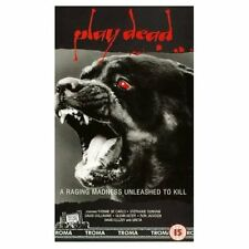 PLAY DEAD Troma Horror, Yvonne De Carlo VHS NEW SEALED