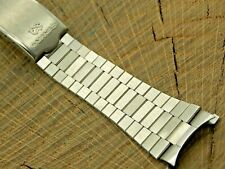 Seiko Vintage NOS Stainless Steel Watch Band Deployment Clasp Unused Mens 20mm
