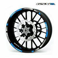 For Suzuki GSX-R Motorcycle Rim stripes 17inch Wheel Sticker Reflective Tape-SS8