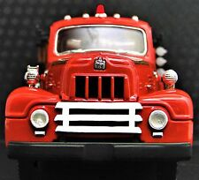 Fire Engine Truck Ford Built 1 Metal Model Vintage 1950 T 24 Pickup Car 16 A 25