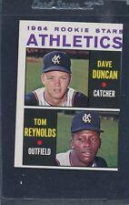 1964 Topps #528 Dave Duncan Tom Reynolds VG/EX *620