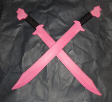 Double Pink Training Philippines Espada Practice Swords Martial Arts Sword