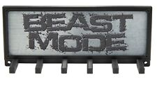 Beast Mode Beastmode Spartan Race Medal Display Rack Holder Hanger Organizer