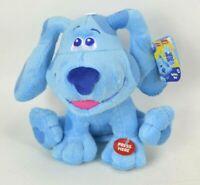 "NEW Barking Blues Clues & You Talking Puppy Dog 7"" Plush Stuffed Animal"